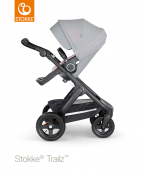 _WÓZEK STOKKE® TRAILZ™ SPACEROWY black/athleisure pink