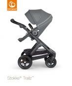 _WÓZEK STOKKE® TRAILZ™ SPACEROWY black/athleisure green