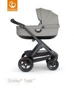_WÓZEK STOKKE® TRAILZ™ głęboki black/brushed grey