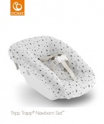 NEWBORN SET™ STOKKE® TEKSTYLIA white mountains