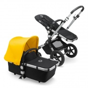 _   BUGABOO CAMELEON 3 PLUS alu/black/sunrise yellow