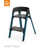 KRZESEŁKO STOKKE® STEPS™ midnight blue/black