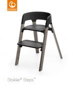 KRZESEŁKO STOKKE® STEPS™ hazy grey/black