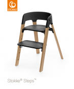 KRZESEŁKO STOKKE® STEPS™ oak natural/black
