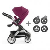 _ WÓZEK STOKKE TRAILZ purple