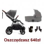 - WÓZEK OCARRO 4w1 grey twill