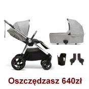 - WÓZEK OCARRO 4w1 skyline grey