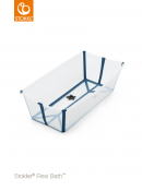 WANIENKA STOKKE® FLEXI BATH™ XL transparent blue