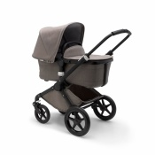 _   BUGABOO FOX 2W1 black/mineral taupe