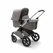 _   BUGABOO FOX 2W1 alu/mineral light grey