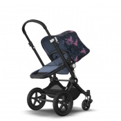 _   BUGABOO CAMELEON 3 PLUS black/blue melange/birds