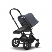 _   BUGABOO CAMELEON 3 PLUS black/grey melange/steel blue