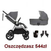 _   WÓZEK OCARRO 4w1 grey mist