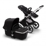 BUGABOO FOX2  alu/black/black