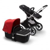 BUGABOO FOX2 alu/black/red