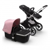 BUGABOO FOX2 alu/black/soft pink