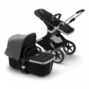 BUGABOO FOX2 alu/black/grey melange