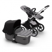BUGABOO FOX2 alu/grey melange/black
