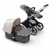 BUGABOO FOX2 alu/grey melange/fresh white