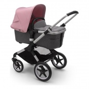 BUGABOO FOX2 alu/grey melange/soft pink