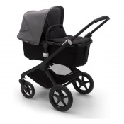BUGABOO FOX2 black/black/grey melange