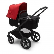 BUGABOO FOX2 black/black/red