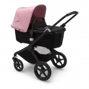 BUGABOO FOX2 black/black/soft pink