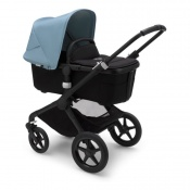 BUGABOO FOX2 black/black/vapor blue
