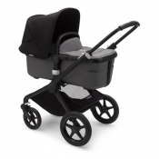 BUGABOO FOX2 black/grey melange/black
