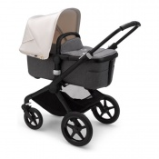 BUGABOO FOX2 black/grey melange/fresh white