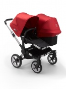BUGABOO DONKEY3 DUO alu/black/red