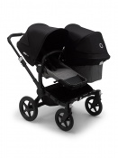 BUGABOO DONKEY3 DUO black/grey melange/black