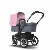 BUGABOO DONKEY2 MONO black/steel blue/soft pink