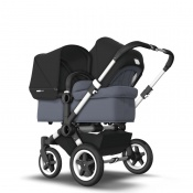 BUGABOO DONKEY2 DUO alu/steel blue/black
