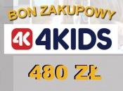 -KUPON PREZENTOWY 480 ZŁ