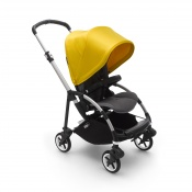 -BUGABOO BEE 6 alu/grey melange/lemon yellow